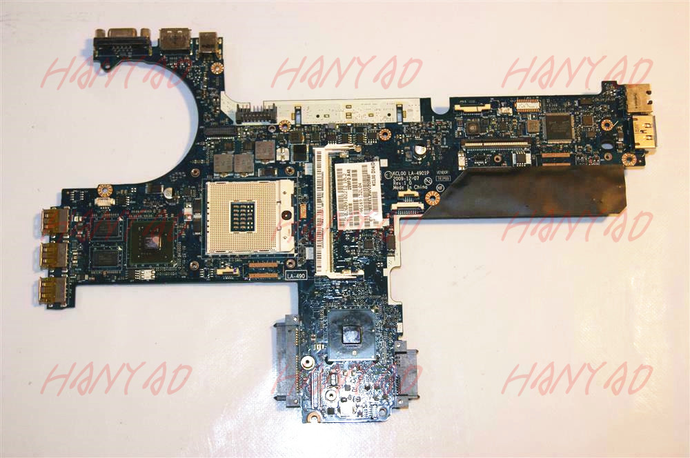 for hp 8440p 8440w laptop motherboard 594026-001 la-4901p Free Shipping 100% test ok
