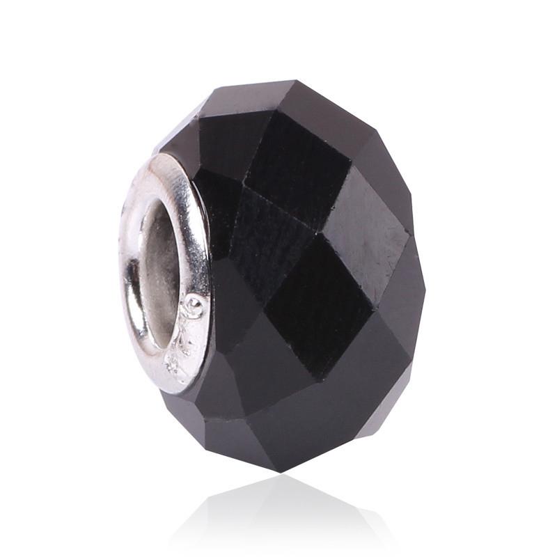 AIFEILI модные 20 цветов DIY стеклянные бусины Fit Пандора ожерелья подвески браслеты 13*9*5 мм Европейский бусины подвески ювелирных изделий