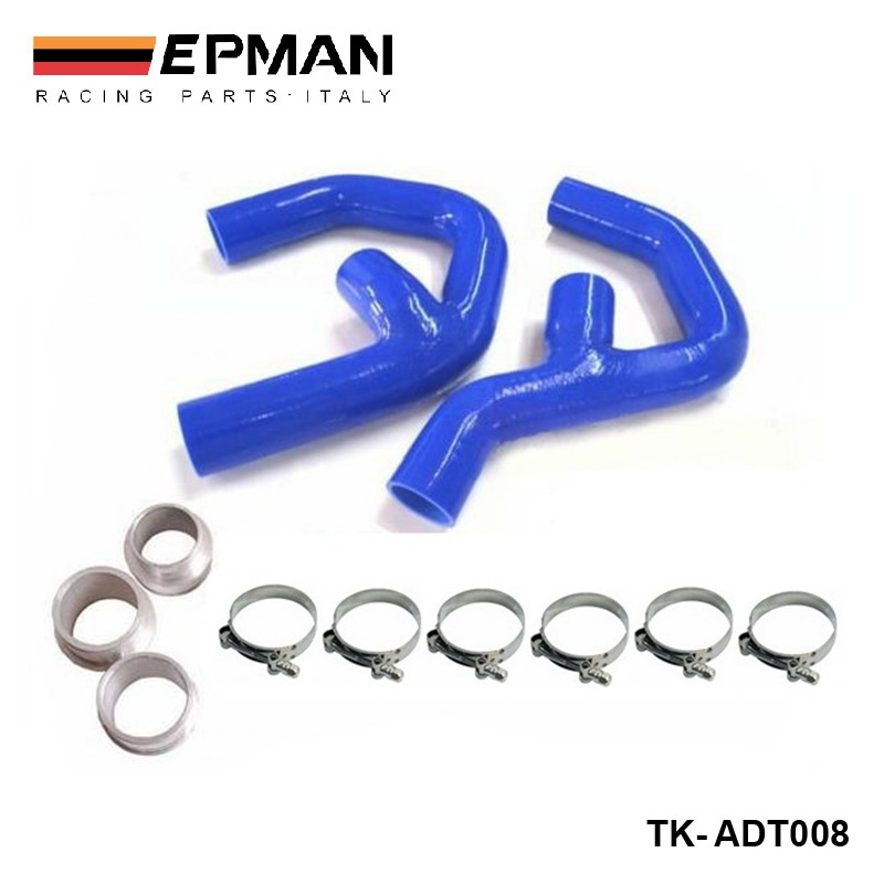 Silicone Turbo boost Intercooler Hose Kit For Audi New TT A3 TFSI TDI EP ADT008
