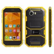 4,5 zoll KENXINDA Proofing W6 IP68 Wasserdicht Stoßfest Staubdicht 1 GB/8 GB Android 5.1 MTK6735 Quad Core 4G Handy
