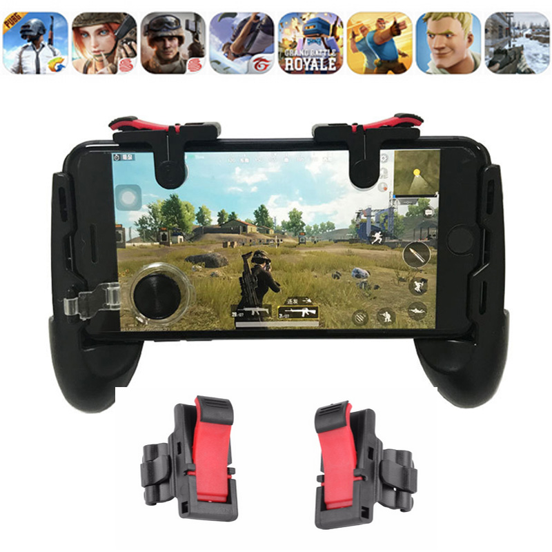 2pcs Gamepad Game Trigger Pubg  Joystick Controller For Phone L1r1 Pubg Fire Buttons With Joystick  For IPhone Android Phone