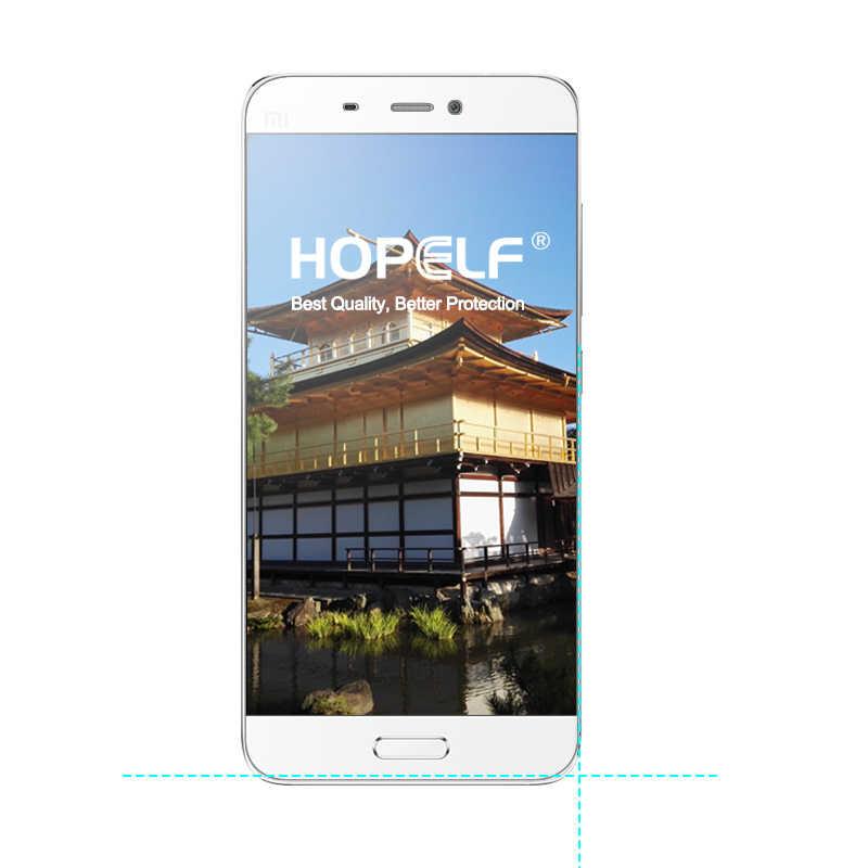 2 peças hopelf vidro temperado para xiao mi 5 vidro mi 5 protetor de tela filme do telefone para vidro mi 5 xiao mi temperado xao mi