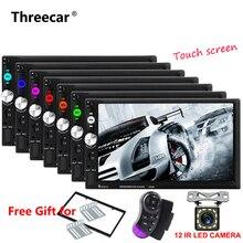 2 din car radio 7″ Touch Screen Player MP5 SD/FM/USB/AUX/Bluetooth/Mirror Car Audio For Rear View Camera Remote Control no dvd