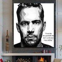 Wall Art Home Decoration 100% Handmade Framed Oil Painting Pop Art Picture Famous Portrait Art Design Modern Canvas Painting