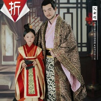 FuNvQing Childhood Mi Yue 2015 Newest TV Play Legend of Mi Yue - Ancient Qin Empress Xuan Gorgeous Stage Costume for little girl