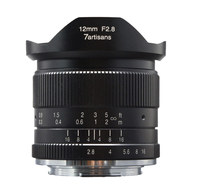 7artisans 12mm F2.8 Ultra Wide Angle Lens for Sony E mount APS C Mirrorless Cameras A6500 A6300 A7 Manual Focus Prime Fixed Lens