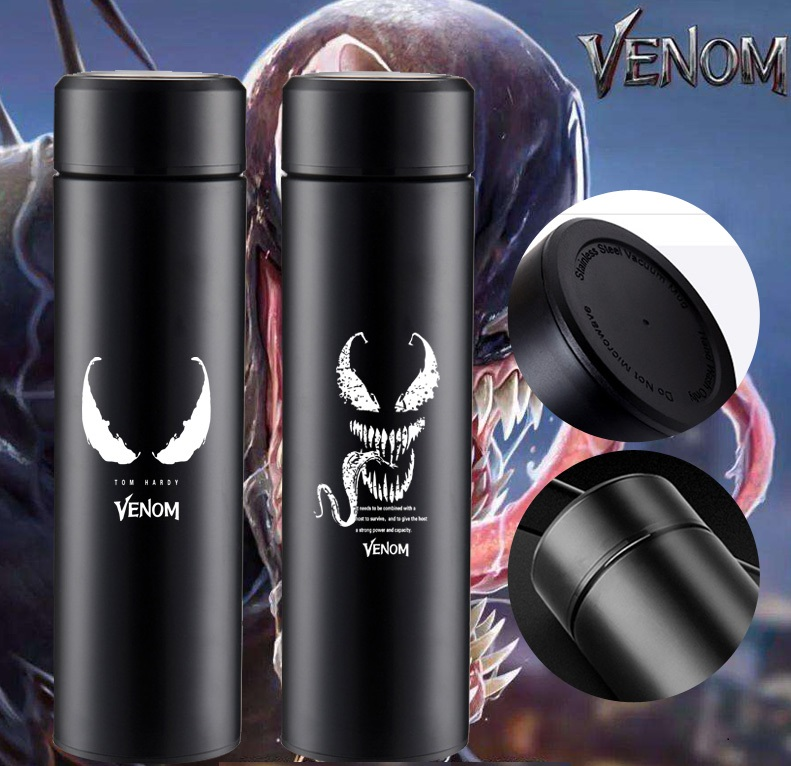 OUSSIRRO Super Hero Avenger Spider Venom Stainless Steel Thermos Cup Originality Portable Water Bottle