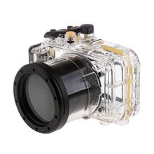 купить Meikon 40M Waterproof Underwater Camera Housing Case Bag for Panasonic GF6 (14-42mm) Camera дешево