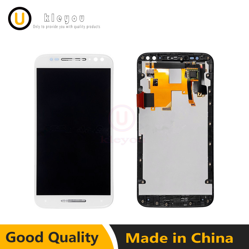 For Motorola Moto X Style X3 XT1575 XT1572 XT1570 Touch Screen Panel for Moto X Style LCD Display Digitizer Complete Spare Parts