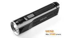 New Fenix UC52 , Cree XHP70 LED ,Micro USB rechargeable flashlight, 3100 lumens Build-in 7.2V/3500mAh Li-ion battery pack(China)