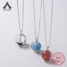 Серебро 925 ювелирные изделия цепь мода простой натуральный