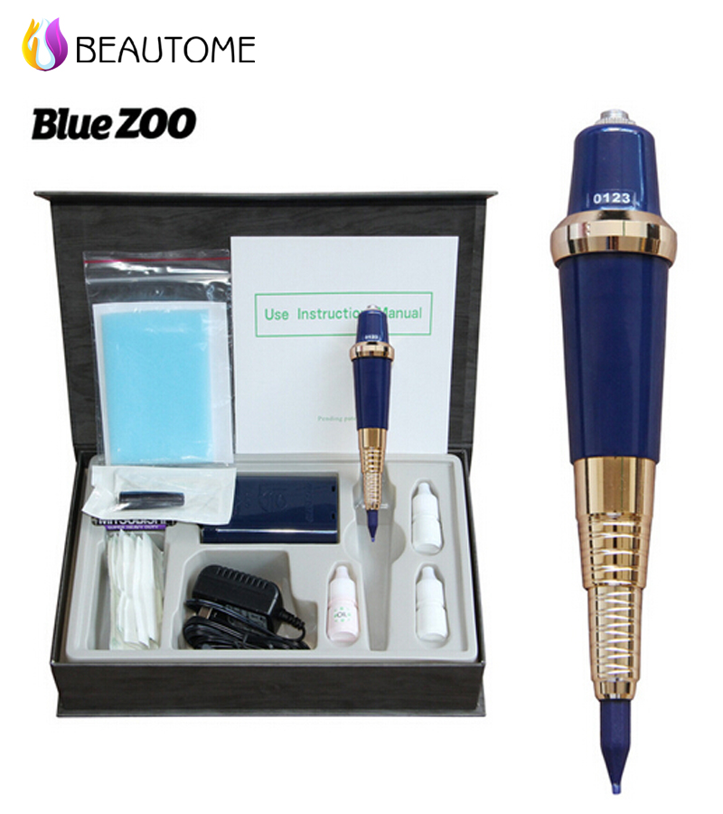 2016 hot selling Professional Permanent Makeup Machine Good Quality Eyebrow Makeup Tattoo Pen Microblading pen tattoo machine .! original ni pci 6013 selling with good quality and professional