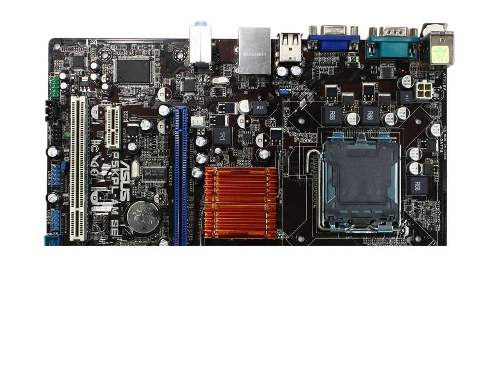 Original Motherboard For ASUS P5KPL-AM SE DDR2 LGA 775 For Core Pentium Celeron 4GB G31 Desktop Motherboard Free Shipping