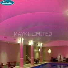 Maykit Secure DIY бар отеля Дизайн 45 Вт RGB Led волоконно-оптический источник света звездное небо освещение двигатель 28key удаленного контроллер