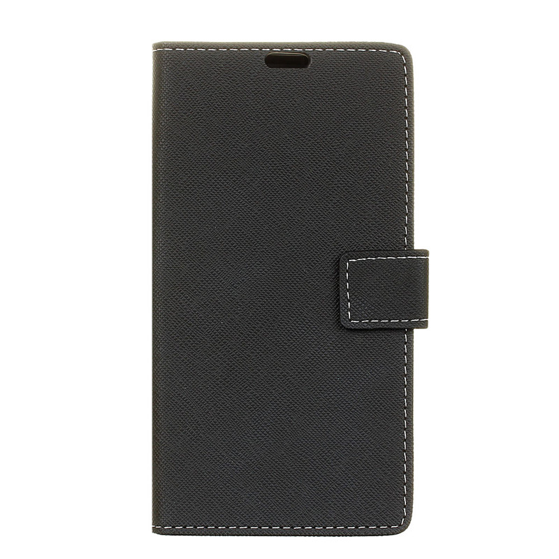 Cross Pattern PU Leather Wallet Case For Google Pixel 2 XL Shockproof Bumper Business Cover For Google Pixel2 XL Housing
