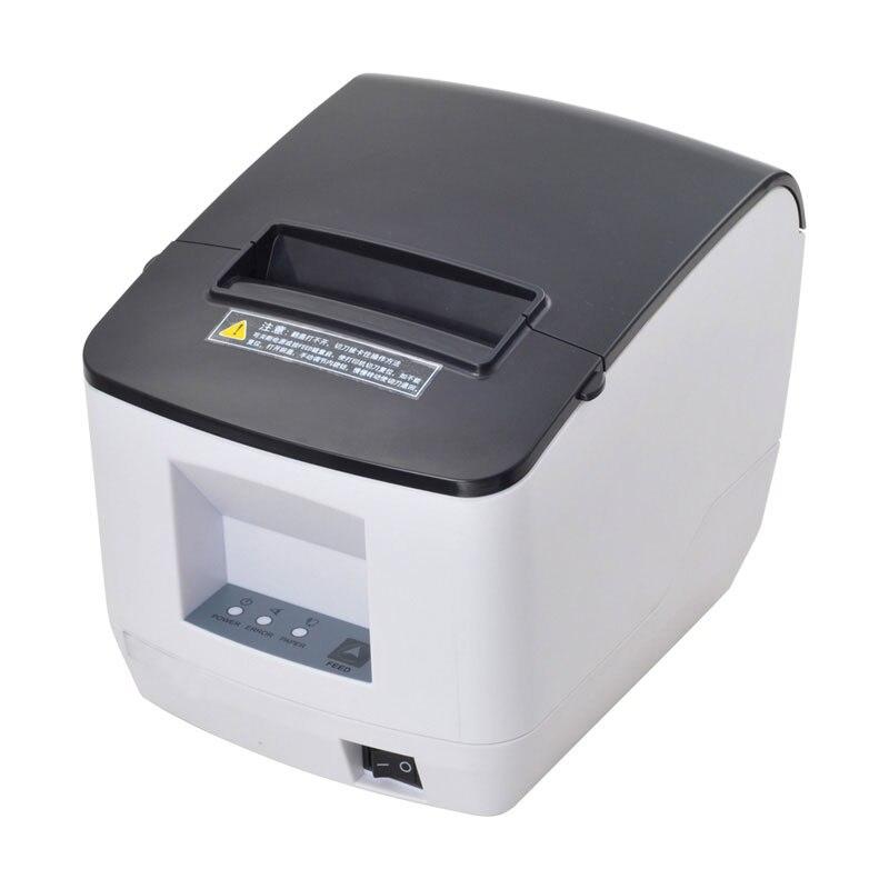 2017 nouvelle arrivée PORT USB 80mm auto cutter reçu imprimante cuisine imprimante peut imprimer Qr code vente-vendeur