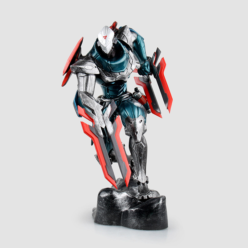 Free Shipping 9 Game Assassin The Master Of Shadows Zed Boxed 23cm PVC Action Figure Collection Model Doll Toy Gift secrets of the russian chess master – fundamentals of the game v 1
