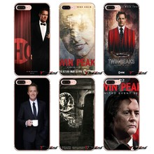 For iPhone X 4 4S 5 5S 5C SE 6 6S 7 8 Plus Samsung Galaxy J1 J3 J5 J7 A3 A5 2016 2017 Twin Peaks Season Soft Silicone TPU Case(China)