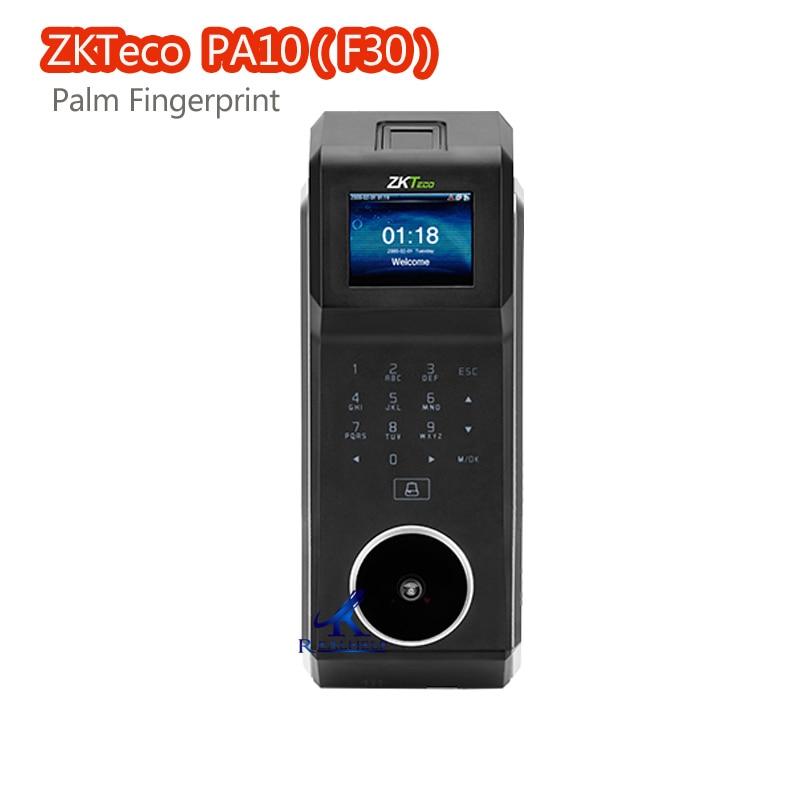 3000Users Palm Fingerprint Hybrid Biometrics F30 ZKTeco PA10 ID Card Reader Recognition Palm Vein Wiegand Signal