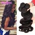 Queen Brazilian Body Wave 4 Pcs HJ Weave Beauty Human Hair Extensions 7A Brazilian Virgin Hair Body Wave Meches Bresilienne Lots