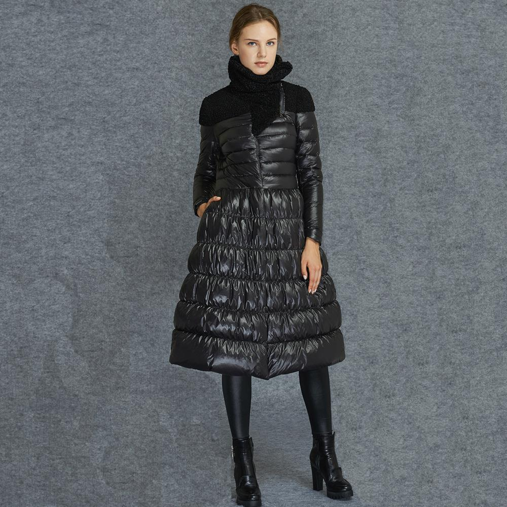 Girls Black Puffer Coat