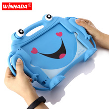 Edible grade silicone case For ipad 2018 9.7 inch hand-held cover for kids air 2 pro 2017