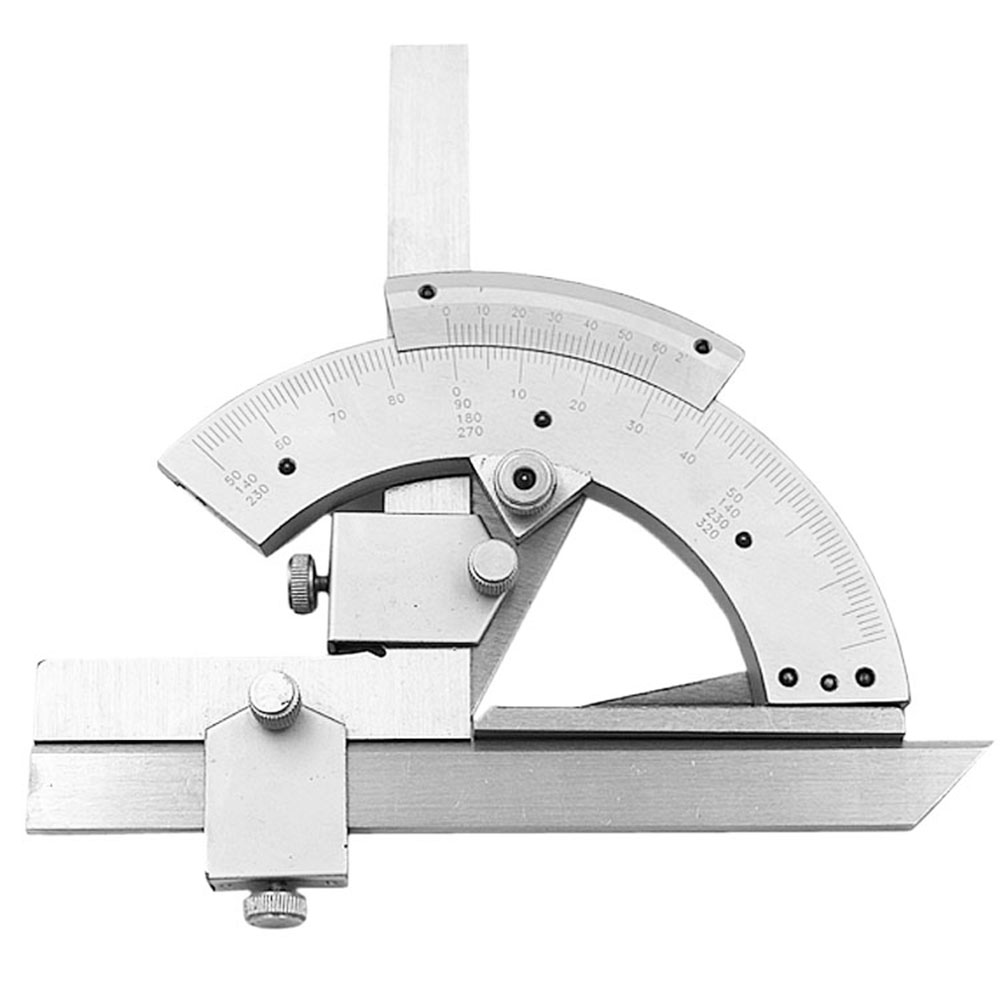 High quality 0 320 Degrees Universal Angle Meter Bevel Protractor Precision Scales Bevel Protractor Ruler