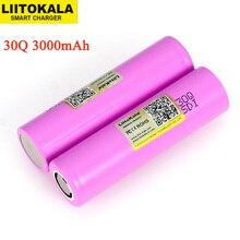 Liitokala 3.6V 18650 Nguyên Bản ICR18650 30Q 18650 3000MAh Pin Sạc Lithium 3.7V Công Cụ Điện Tử Pin