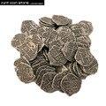 Европейский сокровище Испания Doubloon Золотая монета, Карибского бассейна серии пиратский фильм монета разницы цвета монеты сокровища 1 шт./ло...