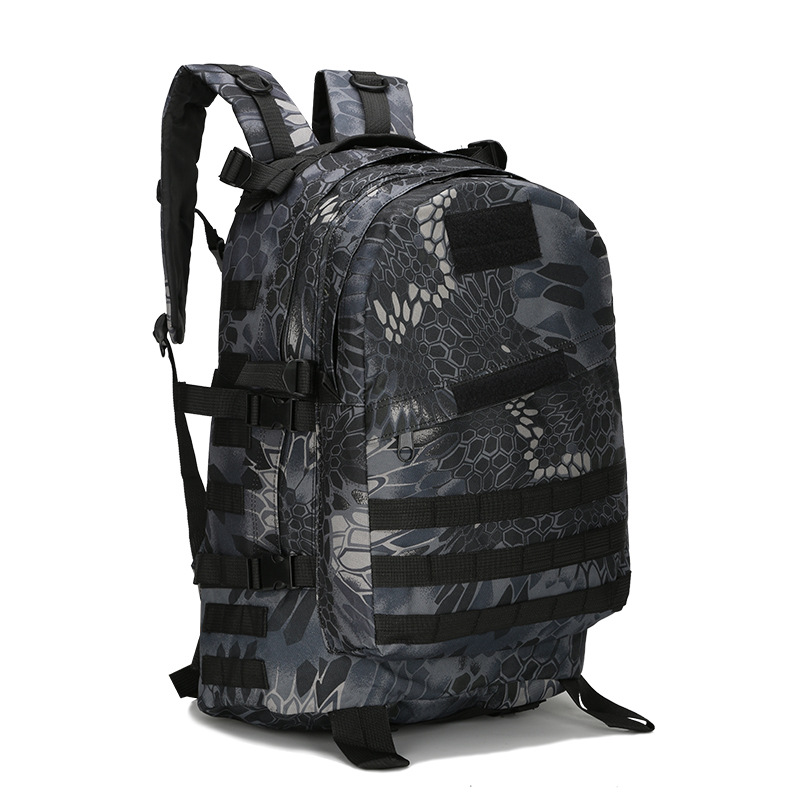 High Quality 3D Military Backpack Nylon Waterproof Army Backpacks Molle Camouflage Travel Bag E45 swyivy 50l military army bag high quality waterproof nylon camouflage backpacks trekking 3p tactical backpack men s sports bag