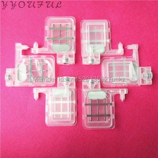 Terbatas waktu diskon-20 pcs peredam besar dengan persegi kepala untuk Epson DX5 printhead Wit Color Infinity Xenons DX5 printhead 4X3 MM
