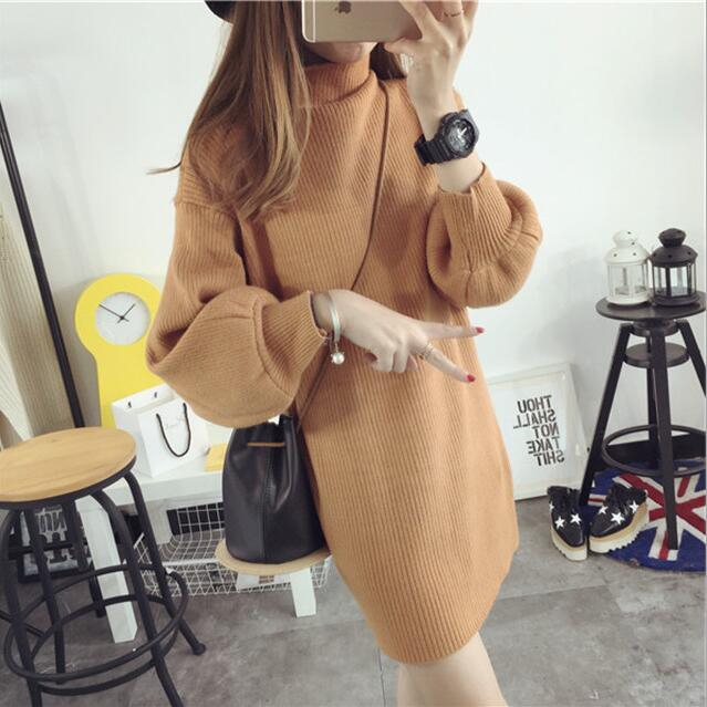 2017 Women Sweaters and pullovers Christmas Sweaters Pull Femme Loose Jumpers  Mujer Oversized Sweater Korean Pull femme-in Pullovers from Women s  Clothing ... 6940be8fbafe