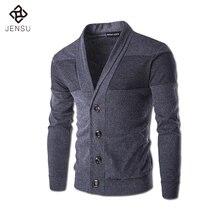 2017 Men Sweaters Chandail De Laine Homme Cardigans Men's Casual Fashion Slim Fit Stylish Men V Neck Sweaters Kanye Outwear Male