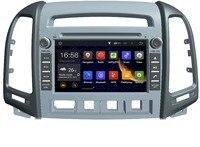 Android 5 1 Quad Core Car GPS Navigation DVD Player For Hyundai SANTA FE 2006 2012