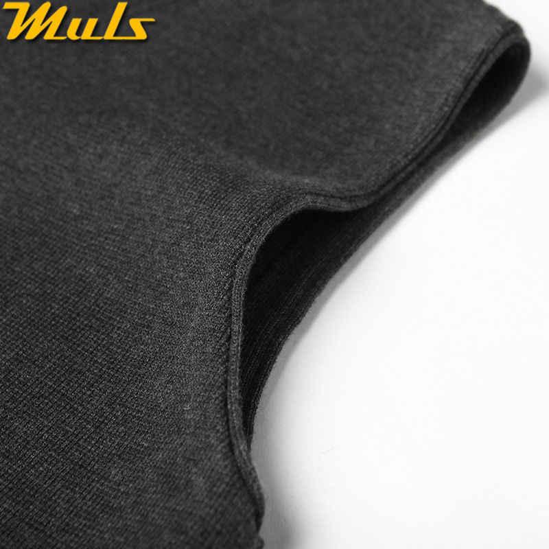 Мужской жилет, свитера, повседневный стиль, шерстяной вязаный однобортный мужской кардиган, жилет, большой размер 4XL, бренд, серый, черный, темно-синий, MS16007