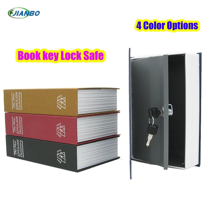 Book Safe Security Box Lock Stash Keys Cash Piggy Bank