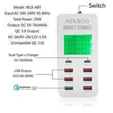 35-Watt 6-Port USB Charging Station