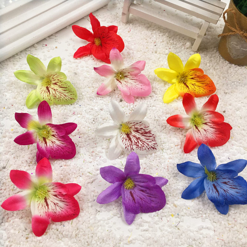 Popular small silk flowers for crafts buy cheap small silk for Decorative flowers for crafts