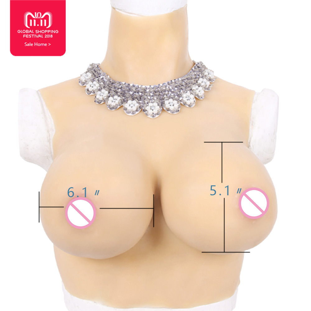 Top quality E Cup Realistic Silicone Breast Forms Artificial Boobs Enhancer Crossdresser vagina for man shemale Trandsgender tit 800g 1000g 1200g realistic silicone breast forms artificial huge false boobs enhancer crossdresser for man shemale trandsgender