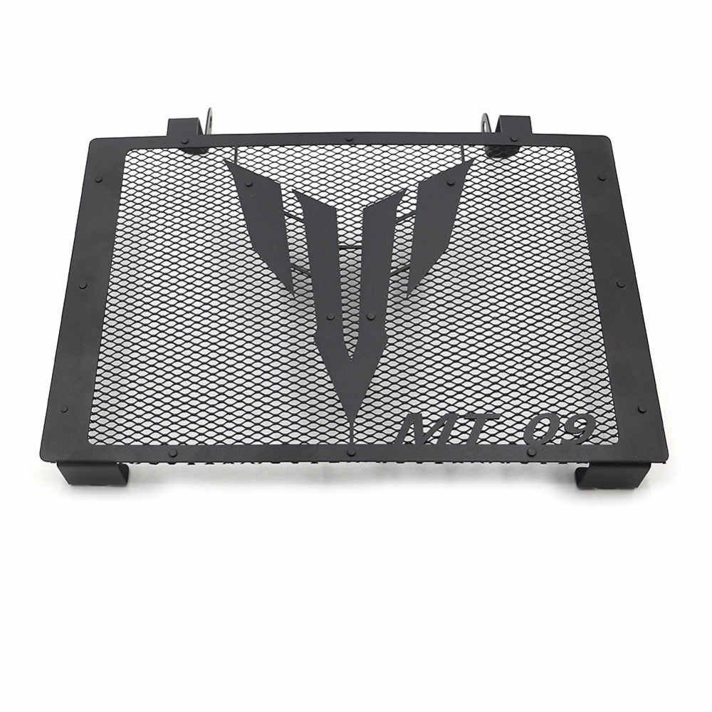 Aluminum Radiator Guard Cover Protector For 2014-2017 Yamaha MT-09 2016 Black