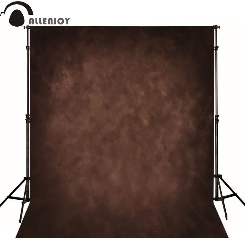 Allenjoy Thin Vinyl cloth photography Backdrop yellow Children Wedding Baby Background Photo Studio Decor Backgrounds MH-026
