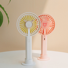 3Life Portable Mini Fan Handheld USB Rechargeable Cartoon Fawn for Office Home Outdoor Summer Gift
