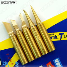 Wozniak Repair Precise Pure Copper temperature soldering k Iron tip 900m-t-i Head Electronic Component Iron 900m-t-is 900m-t-k