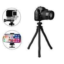 цена на Wrumava 12 inch UFO Flexible Octopus Camera Tripod with Ballhead Bundle Phone Video Gear Mini Tripod for GoPro iPhone X