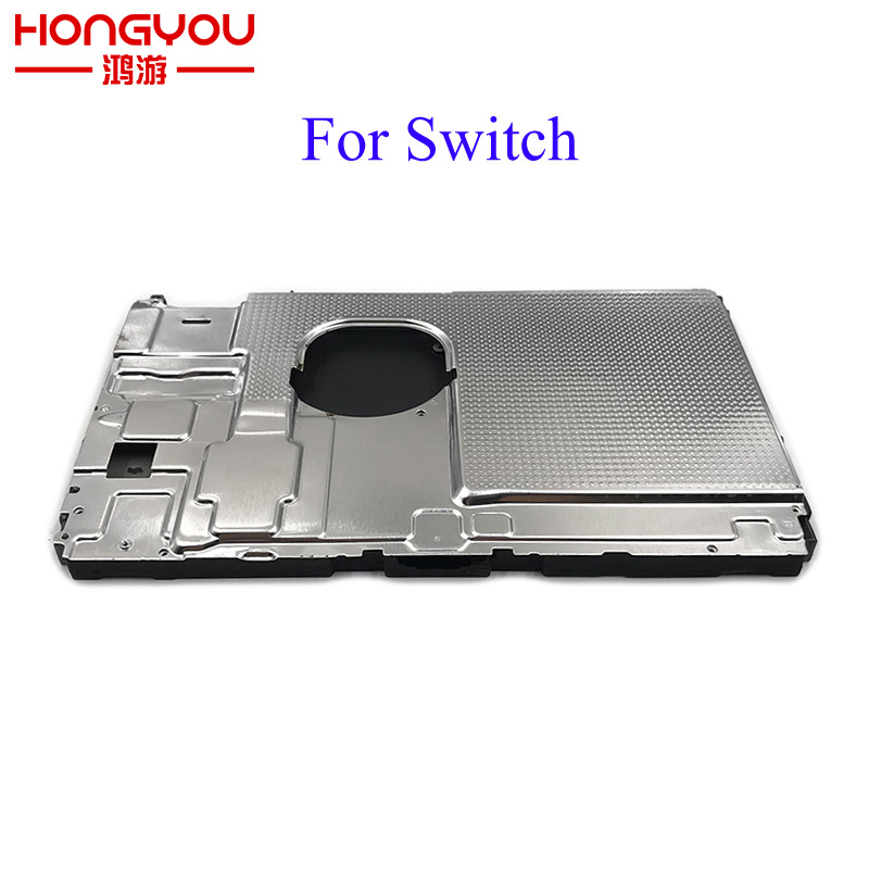 Original used Host metal frame Built-in main shell Cover Case For NS Switch Up and down cover