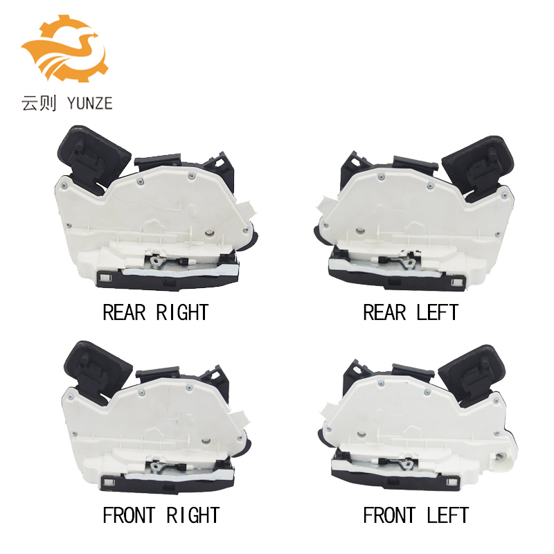 4 SIDES FRONT REAR LEFT RIGHT SIDE CENTRAL DOOR LOCK ACTUATOR FOR GOLF 6 VI JETTA POLO BEETLE CADDY SHARA PASSAT