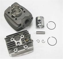 Motorrad Airsal 40mm Zylinder kit mit zylinderkopf Alu aluminium mit decompressor für PEUGEOT 103 104 105 RCX SP SPX NEUE