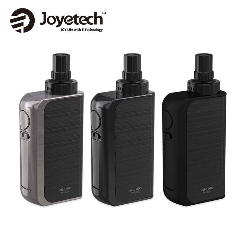 цена на Original Joyetech EGo AIO ProBox Kit Built In 2100mAh Battery with 2ml E-liquid Capacity BF SS316-0.6ohm MTL Vape E-cig Kit