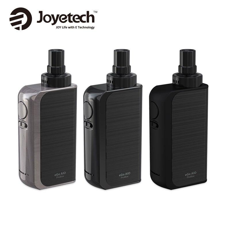 Original Joyetech EGo AIO ProBox Kit Gebaut In 2100 mAh Batterie mit 2 ml e-liquid Kapazität BF SS316-0.6ohm MTL Vape E cig Kit
