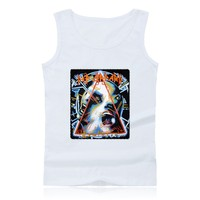 Def Leppard Rock N Roll Band Classic Design tank tops workout tank top hot sale fashion o neck cotton tee shirts plus clothing